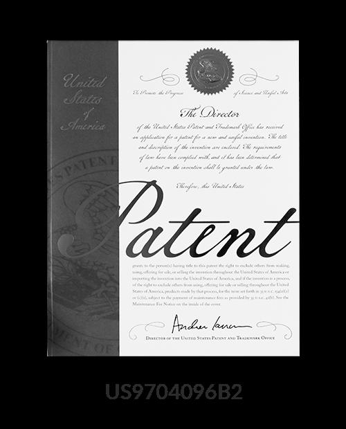 patent US9704096B2